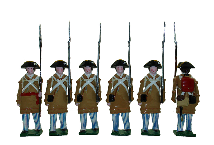 Colonel David Hall's Delaware Regiment, 1780