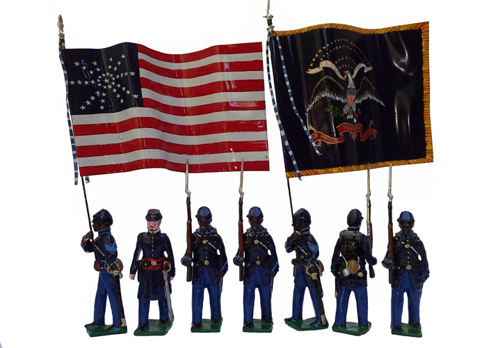 1st Kansas Colored Volunteer Infantry Regiment 1863