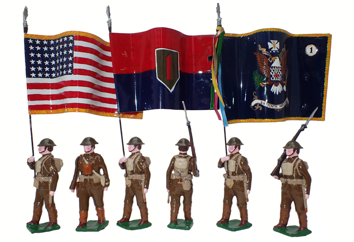 U.S. Army, 16th Infantry Regiment, 1st Infantry Division, 1917