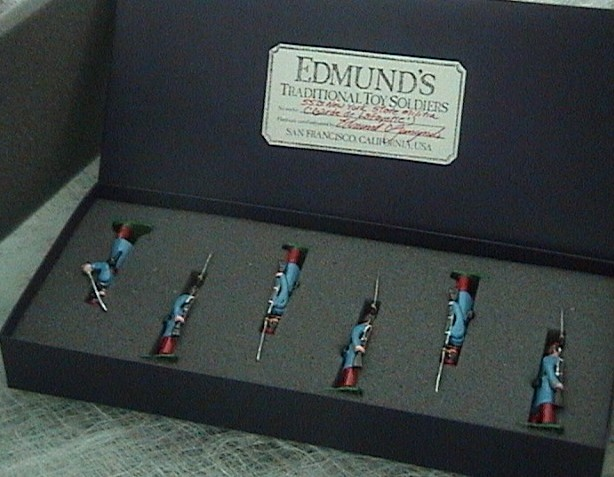 Edmunds Traditional Toy Soldiers Boxed Set